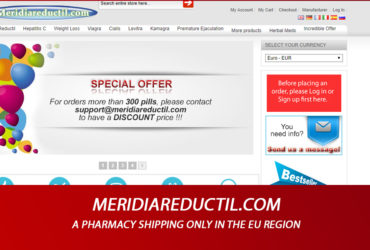 Meridiareductil.Com Review – A PharmacyShipping Only in the EU Region