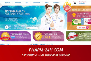 Pharm-24h.com Review - A Pharmacy That Should Be Avoided