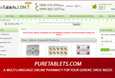 Puretablets.com Review - A Multi-Language Online Pharmacy for Your Generic Drug Needs