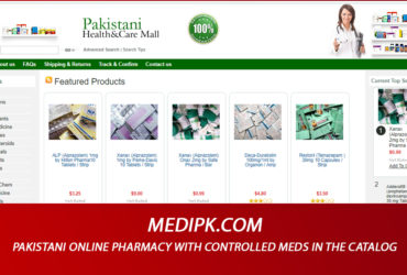 Medipk.com Review – Pakistani Online Pharmacy with Controlled Meds in the Catalog