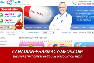 Canadian-pharmacy-meds.com Review: The Store that Offers Up To 70% Discount on Meds