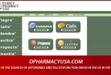 Dpharmacyusa.com Review - One of the Sources of Affordable Erectile Dysfunction Drugs In The US in The Past