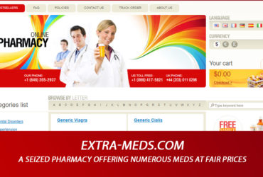 Extra-Meds.Com Review – A Seized Pharmacy Offering Numerous Meds at Fair Prices