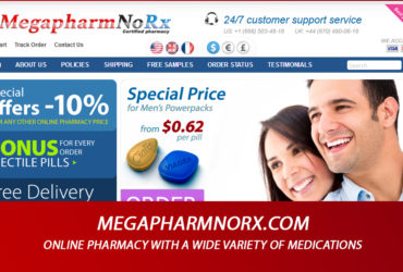 Megapharmnorx.com Review - Online Pharmacy with a Wide Variety of Medications