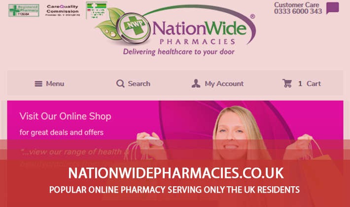 Nationwidepharmacies.co.uk Review - Popular Online Pharmacy Serving only the UK Residents
