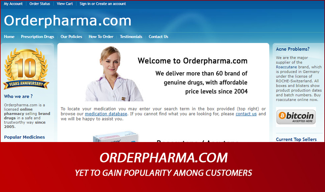 Orderpharma.com Review - Yet to Gain Popularity Among Customers