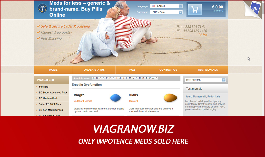 Viagranow.biz Review – Only Impotence Meds Sold Here